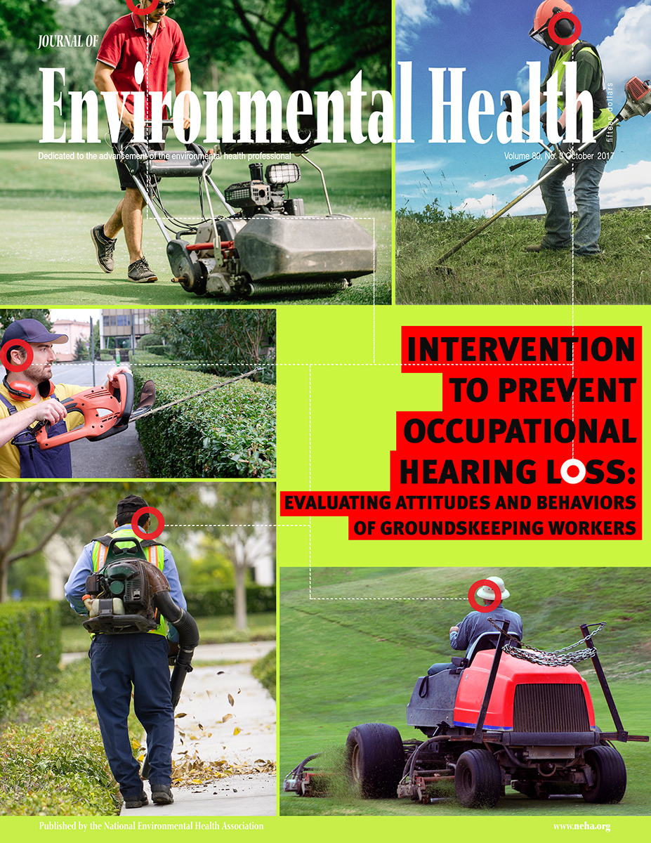 October 2017 Issue of the Journal of Environmental Health (JEH)