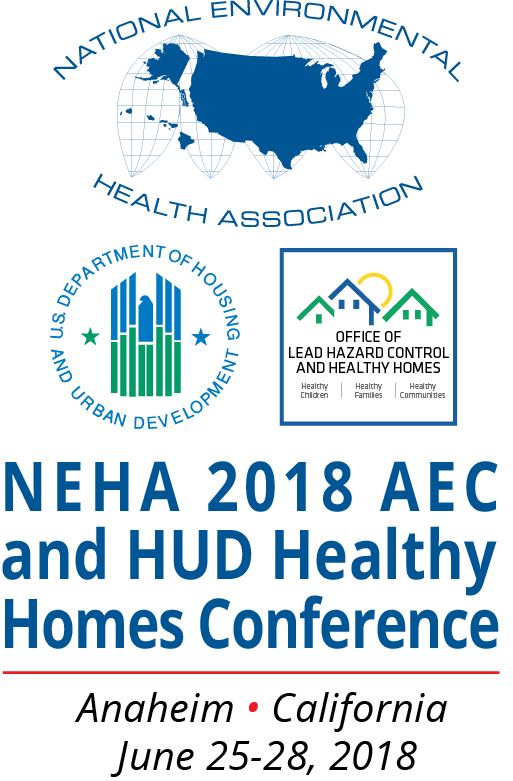 NEHA 2018 Annual Educational Conference (AEC) & Exhibition and HUD Healthy Homes Conference