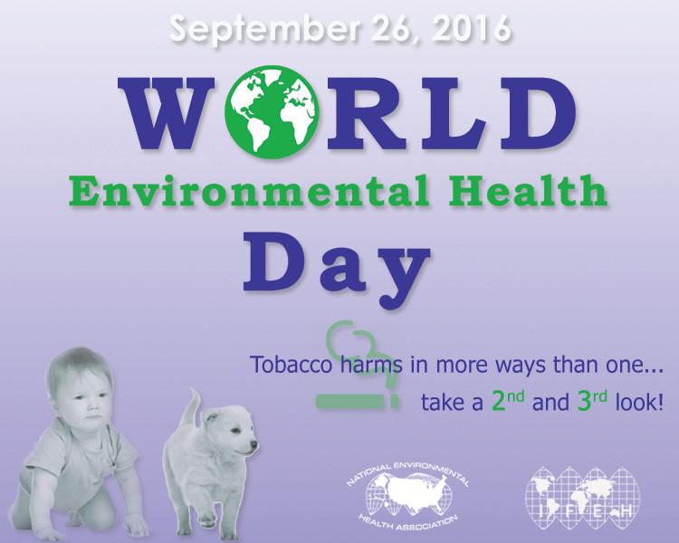 World Environmental Health Day on September 26, 2016 Graphic
