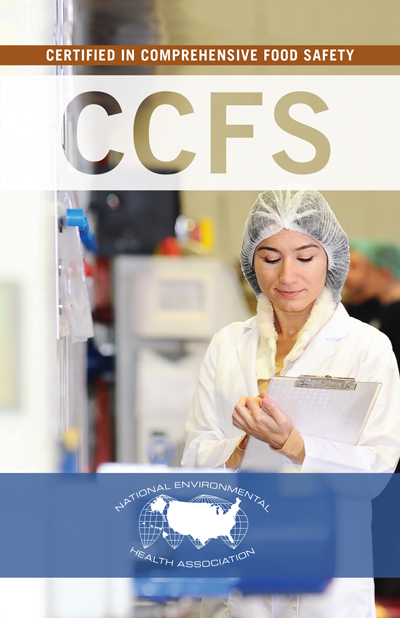 Certified in Comprehensive Food Safety (CCFS) - Woman with clipboard