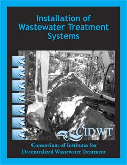 Book: Installation of Wastewater Treatment Systems