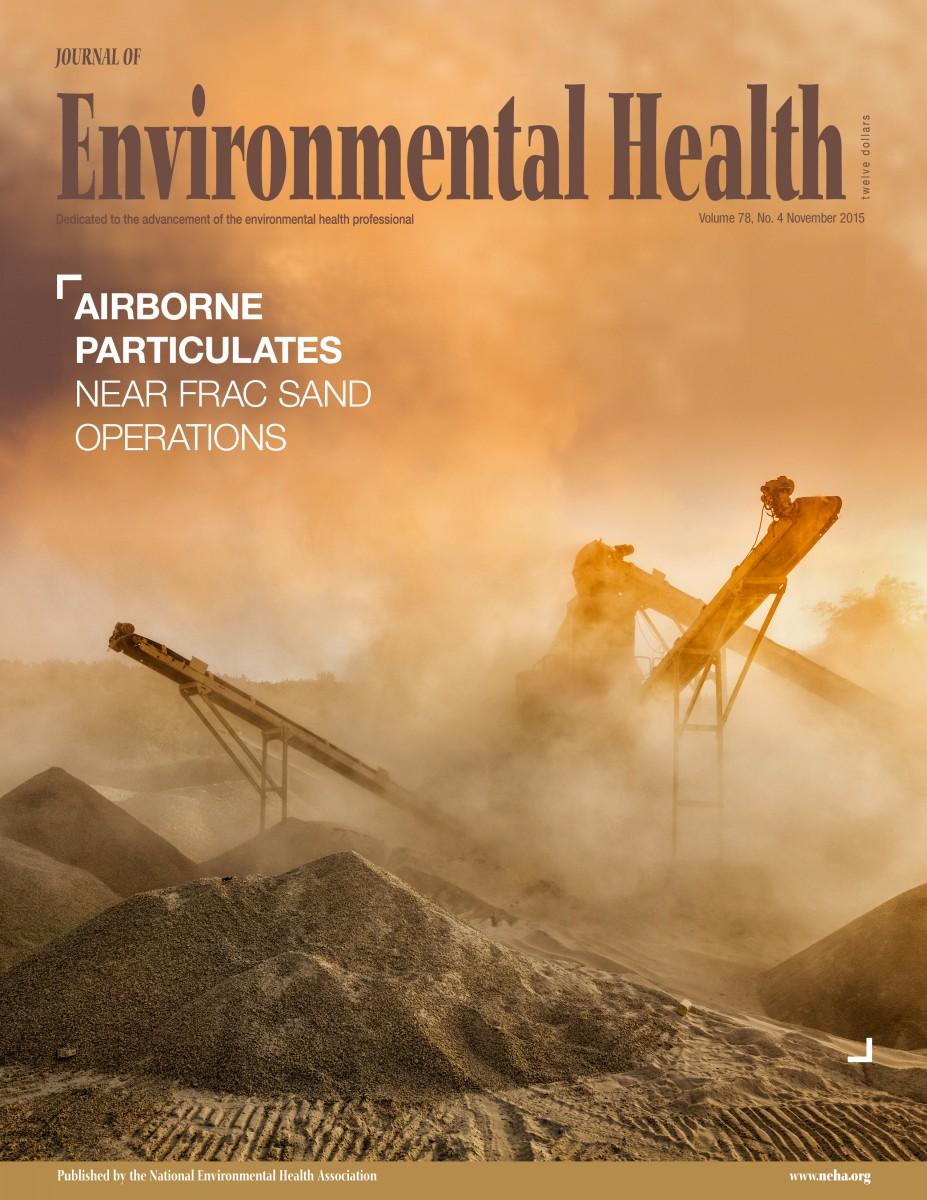 November 2015 issue of the Journal of Environmental Health