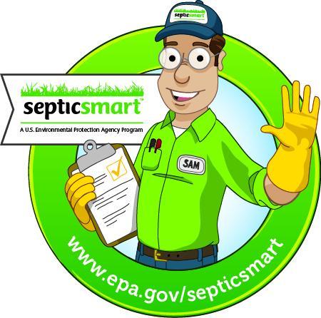 SepticSmart week icon: technician with clipboard